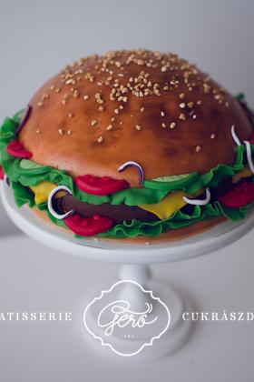 Hamburger torta