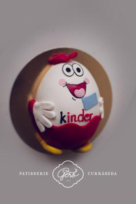 """""""Kinder"""" tojás torta"""