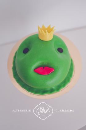 409. Béka király torta