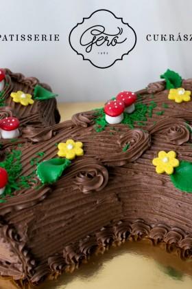 411. Fatörzs torta