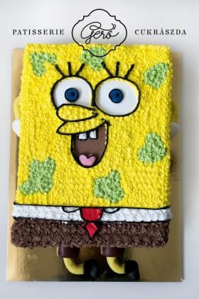 402. Spongya Bob torta