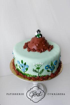 315. Vakond torta