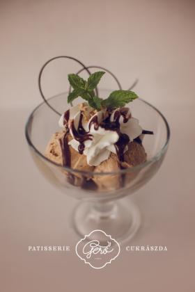 Csoki csók fagylalt kehely