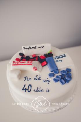 168. Marcipán torta
