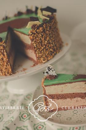 Mozart tortaszelet