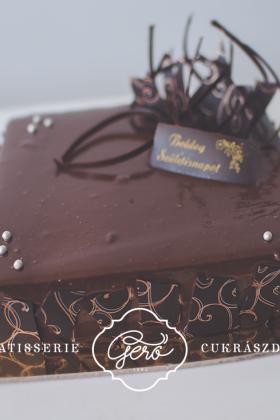 579. Belga csokibomba torta