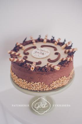 548. Pódium torta